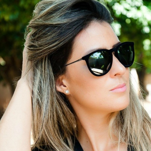 14326050bd39f óculos de sol espelhado feminino da moda