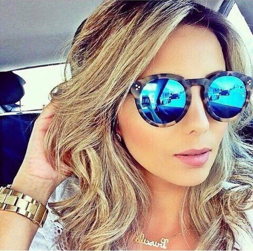 93df425e1fe19 Óculos de Sol Espelhado Feminino