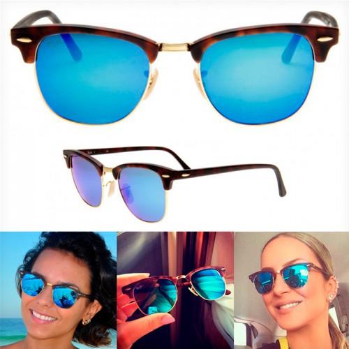 Oculos Rayban Espelhado Azul Feminino   David Simchi-Levi 6a92a35c68