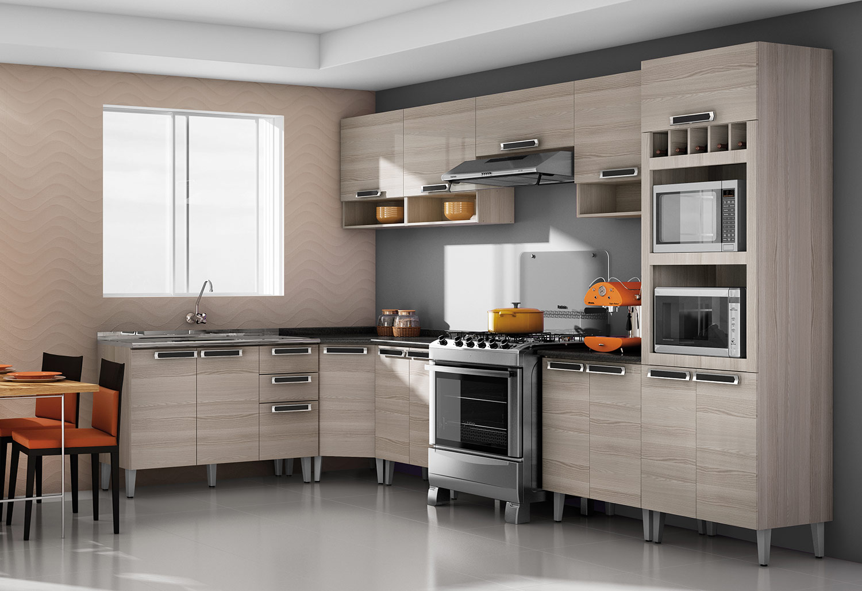 Cozinhas de Aço Itatiaia Modernos Modelos #AA4621 1500 1028