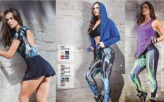 Roupas da Moda Fitness 2017, Belos Looks para Malhar
