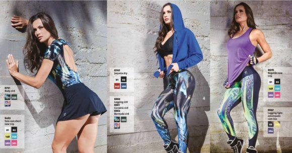 fotos de roupas da moda fitness