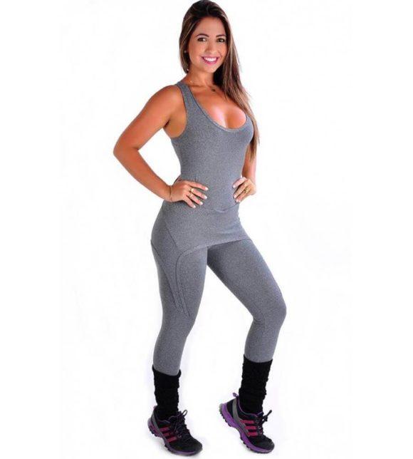 macacão fitness da moda atual