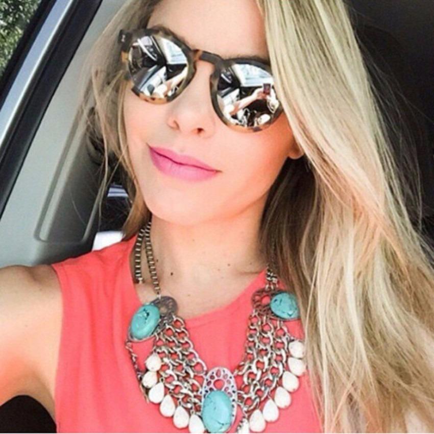 025d7d651ec1d Óculos de Sol Espelhado Feminino, Fotos e Modelos da Moda   Ideias Mix