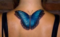 Tatuagens 3D de Borboletas, Tatuagens Femininas