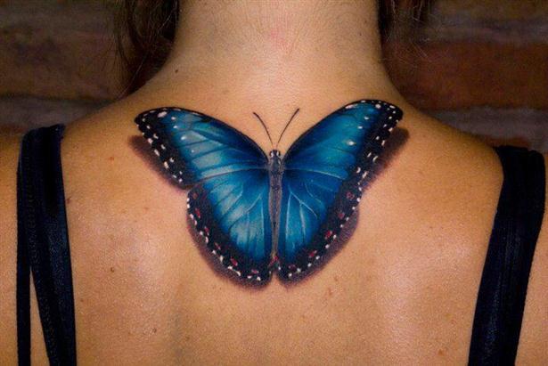 tatuagens 3d de borboletas 1