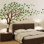 Adesivos Decorativos de Parede de Árvores para Sala e Quartos