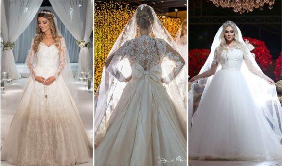 belos vestidos de noivas tradicionais