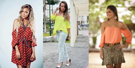 Arrase com estilo com lindas blusinhas de Verão 2016, Belas Opções
