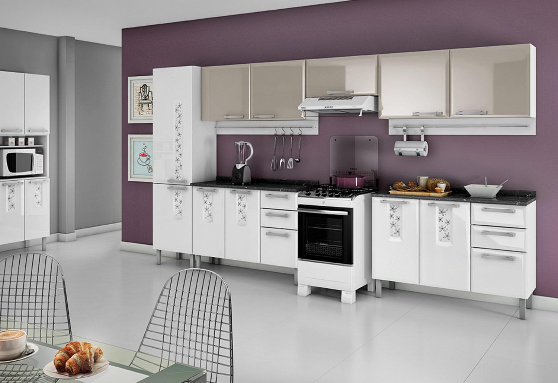 Cozinhas de Aço Itatiaia Modernos Modelos Ideias Mix #9A5D31 1500 1028