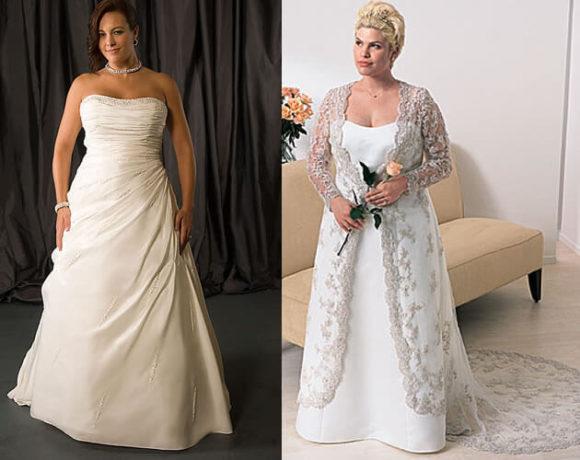 dicas de vestidos de noivas para gordinhas