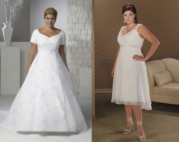 fotos de vestidos de noivas para gordinhas