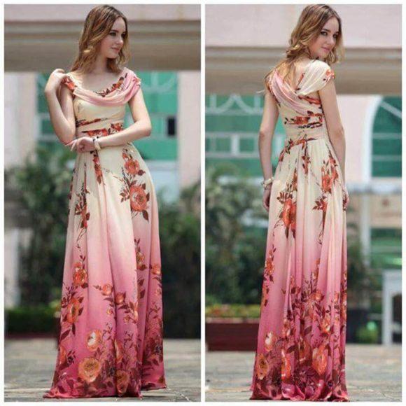 modelos de vestidos longos da moda evangélica