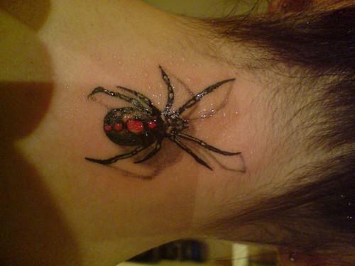 tatuagens 3d de aranhas 1