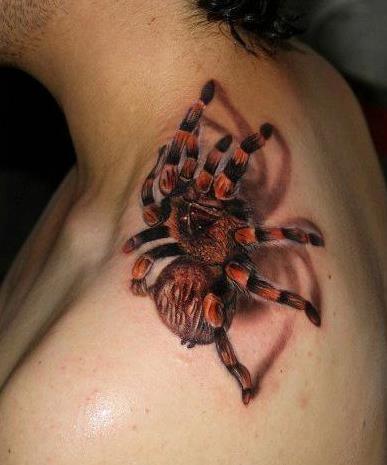 Tatuagens 3d De Aranhas Tatuagens Masculinas E Femininas Ideias Mix
