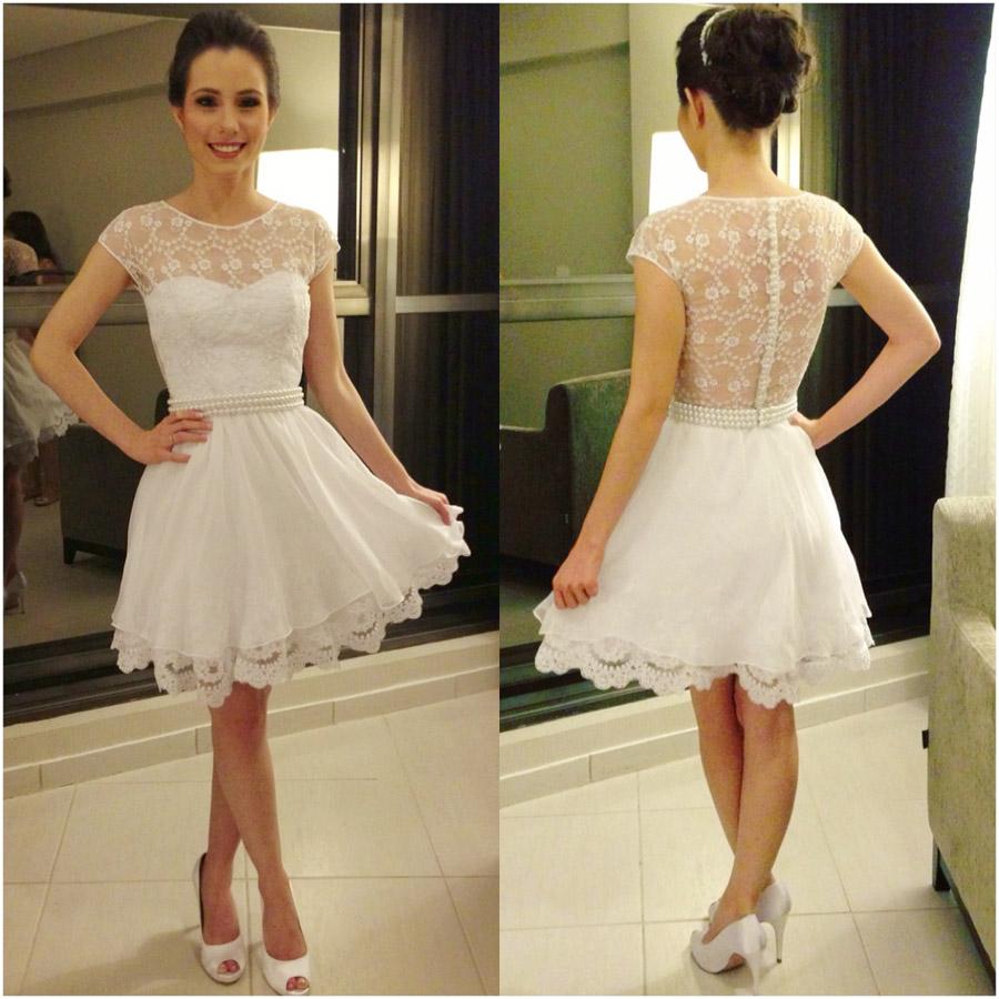 Vestidos Branco Curto de Renda, para Baladas e Réveillon   Ideias Mix