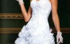 Vestidos de Noivas Curtos, Moda Primavera/ Verão