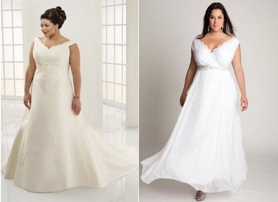 vestidos de noivas plus size