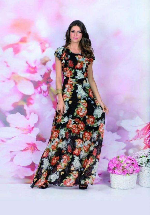 vestidos longos da moda evangélica