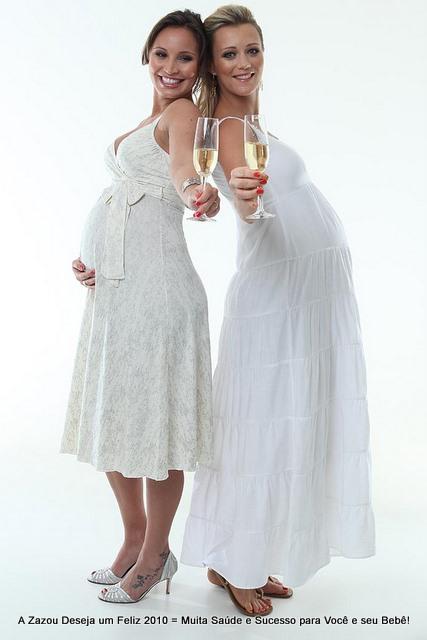 vestidos para réveillon para gestantes 9