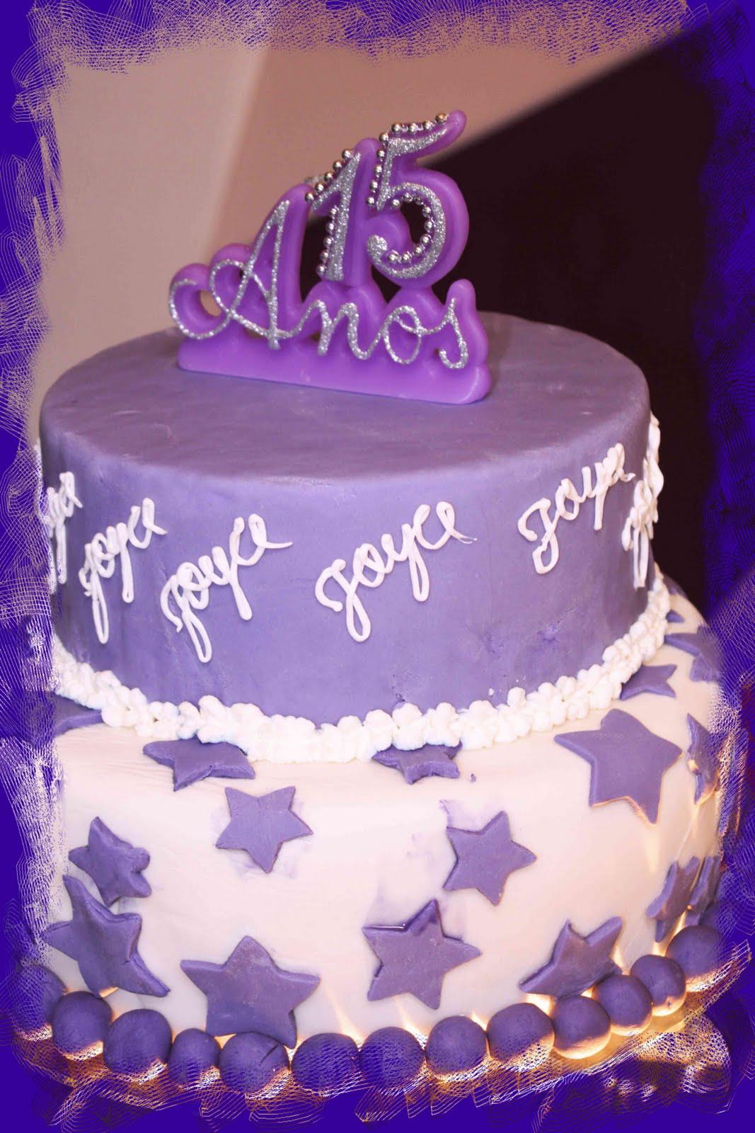 Bolos decorados para festa de 15 anos com diferentes modelos roxo thecheapjerseys Choice Image