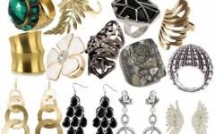 Brincos Femininos de Pedras, Ouro, Prata e Muito Mais