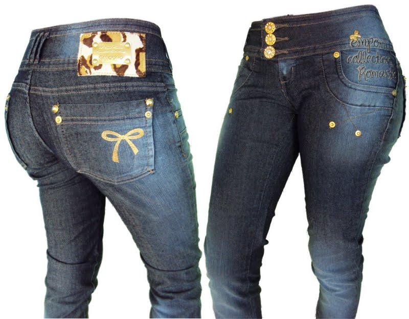 aababd3e4 calças jeans femininas emporio 1 | Ideias Mix