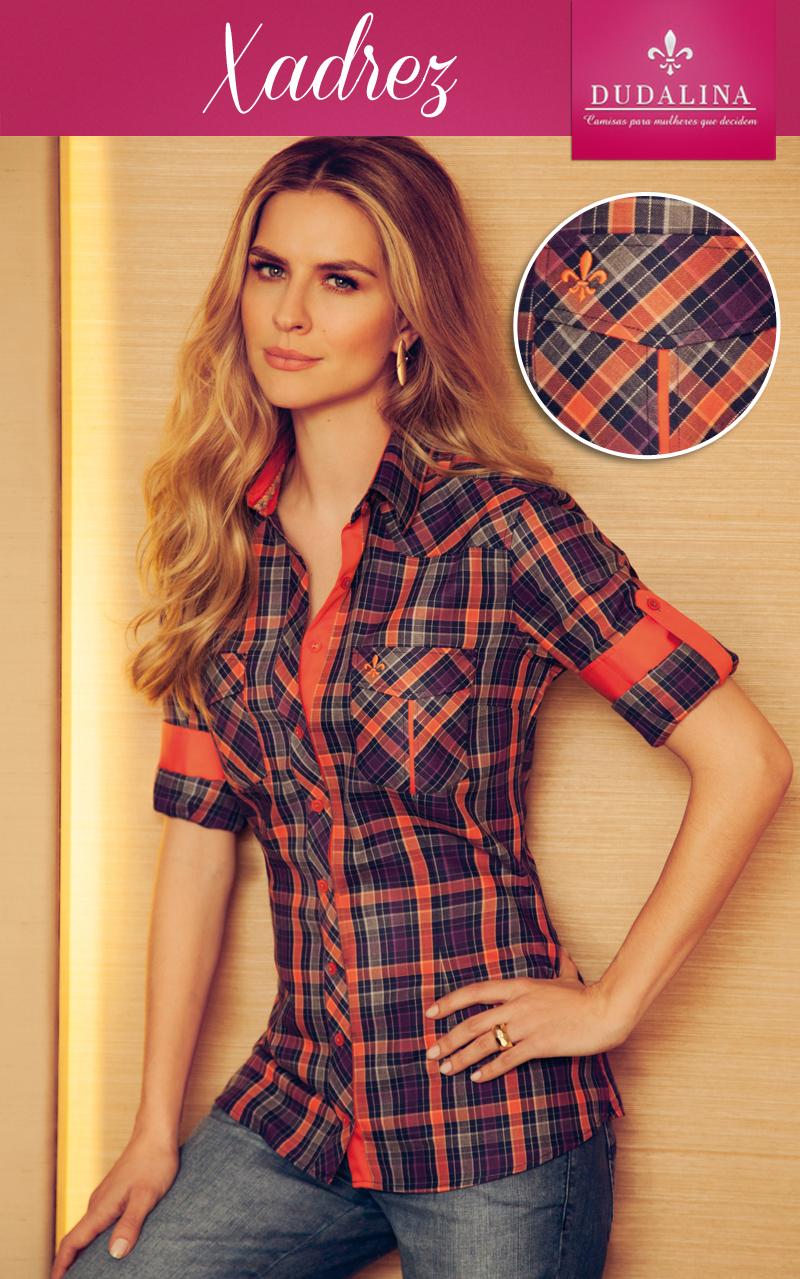 Camisas Femininas Dudalina bc7e64e8d839b