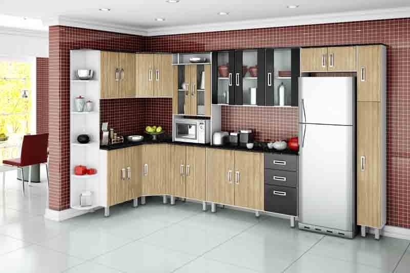 Cozinhas Completas, Diferentes Modelos e Marcas