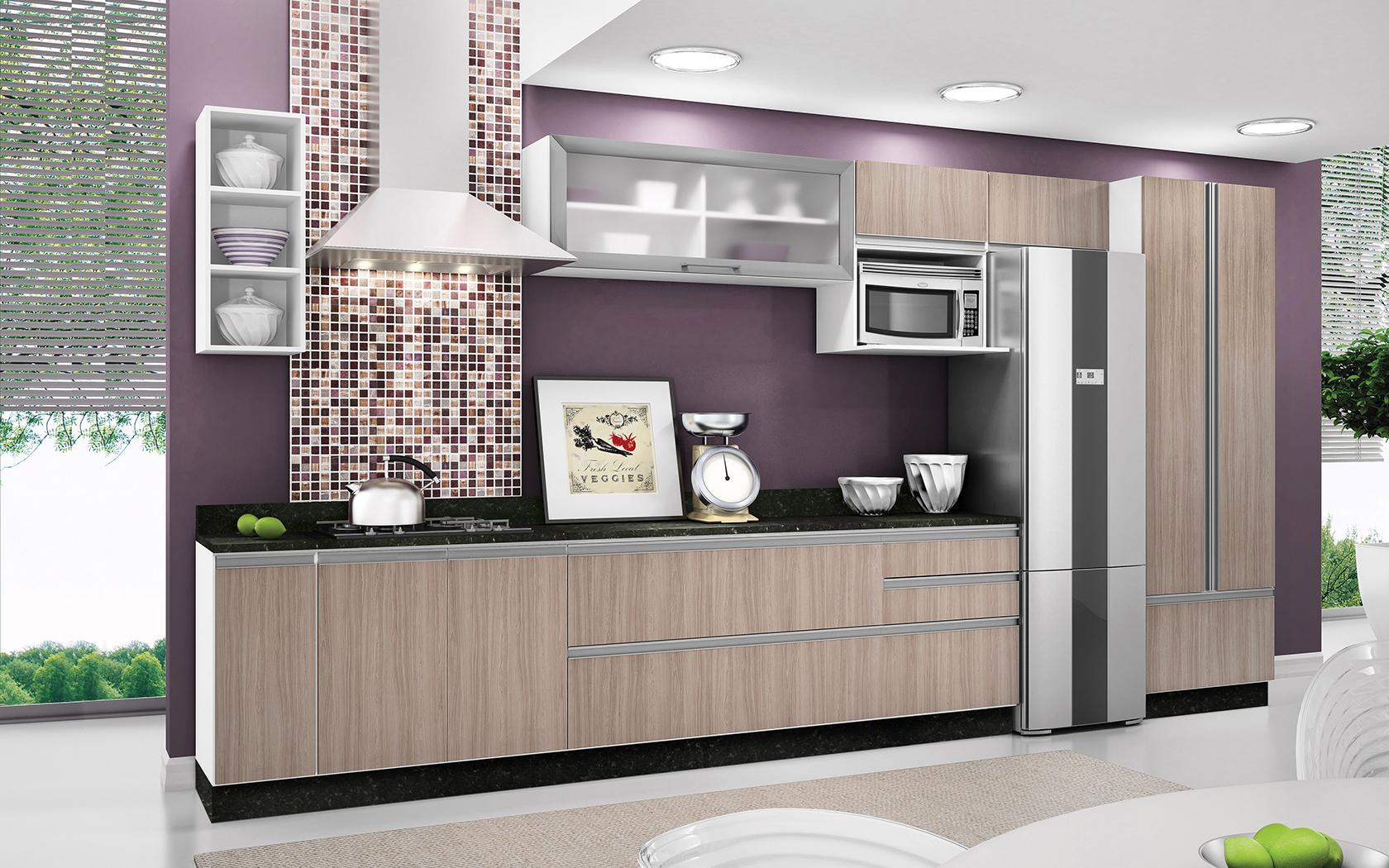 Cozinhas Completas Diferentes Modelos e Marcas Ideias Mix #3B6C43 1680 1050