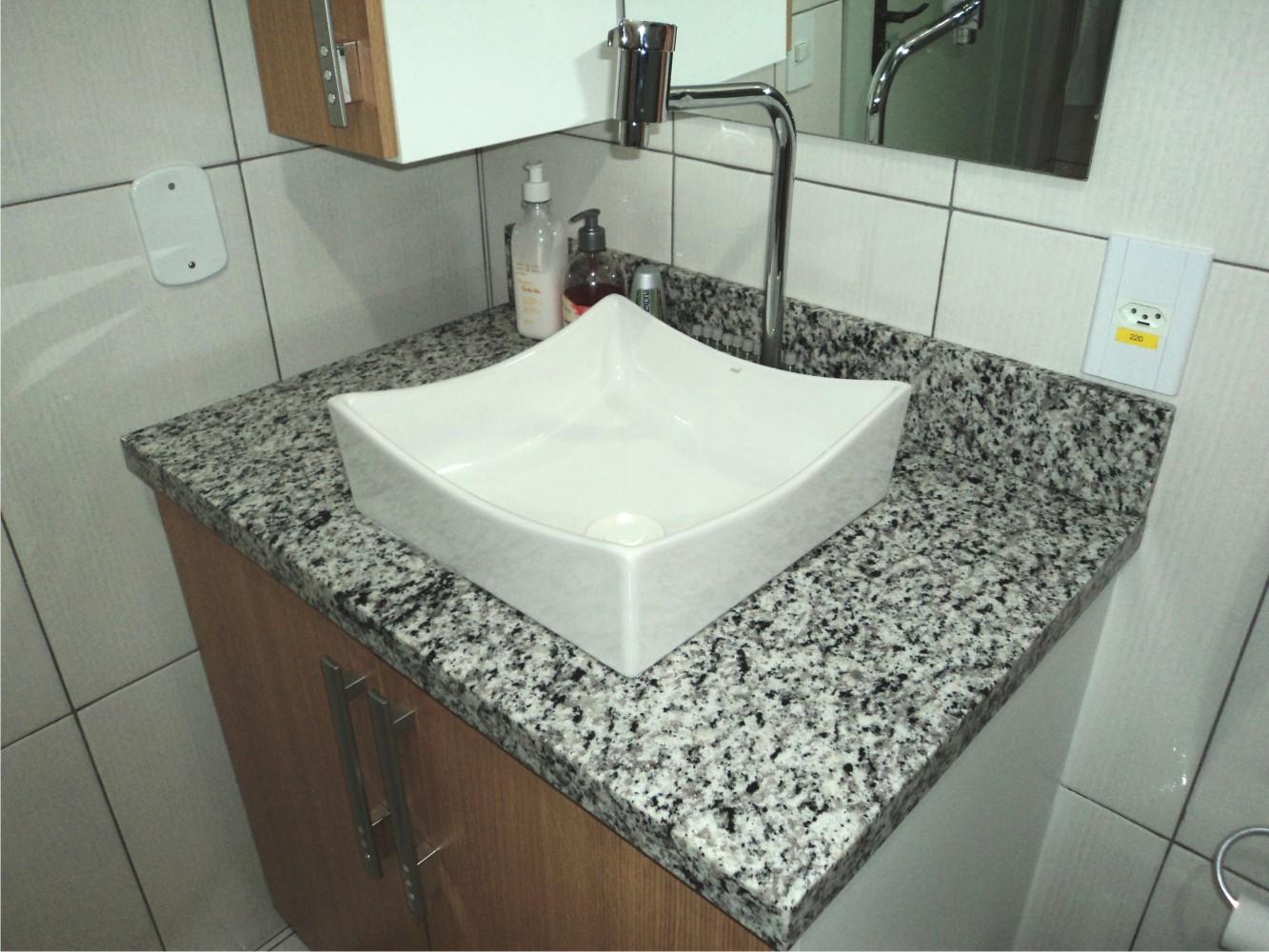 Bancada Com Cuba Para Banheiro  newburygospelhallcom móveis novos e usados -> Cuba Banheiro Marmore