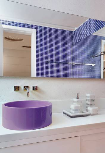 Cuba para Banheiro, Modelos Coloridas e de Diferentes Modelos  Ideias Mix -> Cuba De Banheiro Triangular