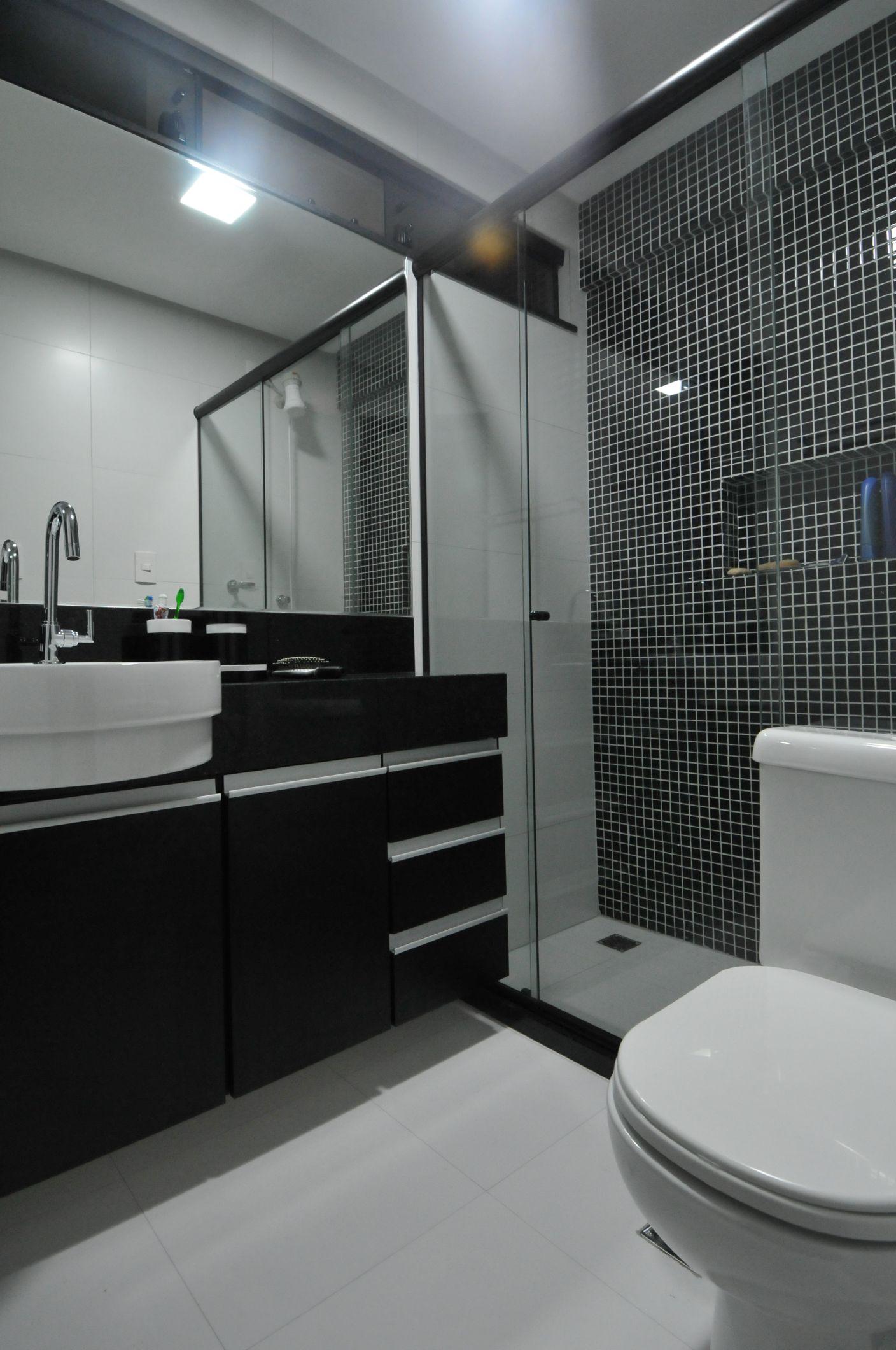 para o banheiro:de Banheiro com Pastilhas Ótima opção para  #6A614C 1408 2120