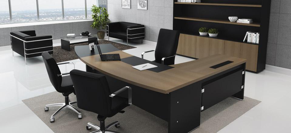 Mesas para escrit rio modernas em foto e modelos ideias mix for Modelos de escritorios para oficina