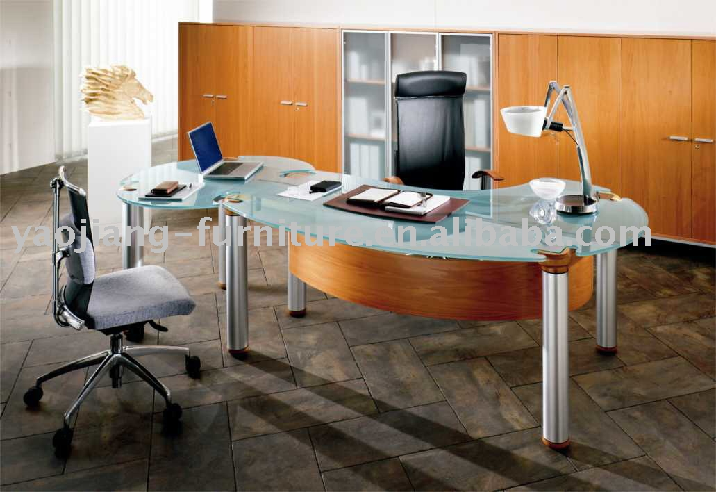 Mesas para escrit rio modernas em foto e modelos ideias mix for Mesas de escritorio zaragoza