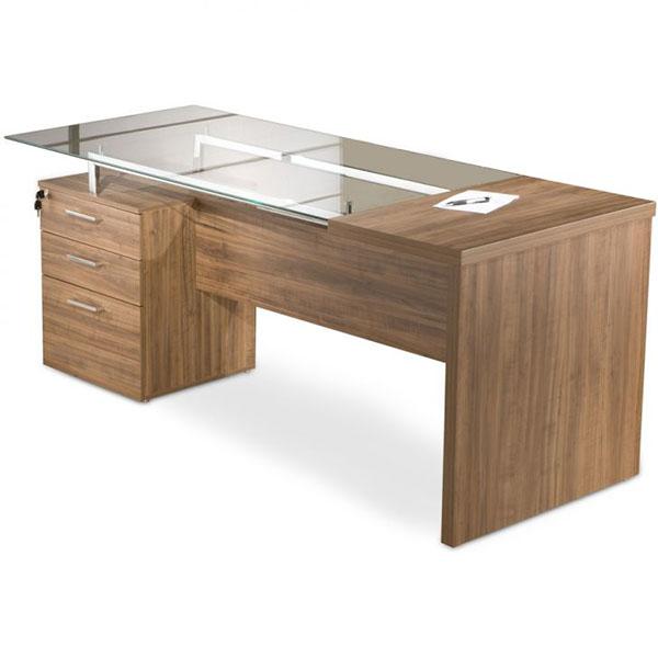 Mesas para escrit rio modernas em foto e modelos ideias mix - Mesa escritorio l ...