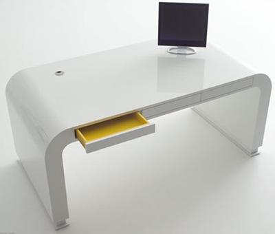 Mesas para escrit rio modernas em foto e modelos ideias mix for Mesas para ordenador pequenas