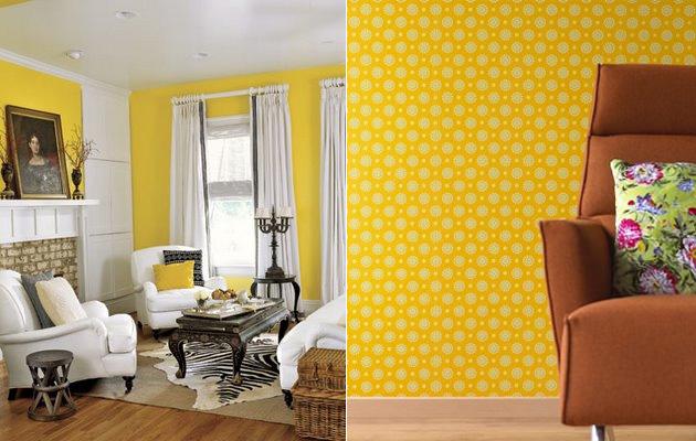 decoracao quarto azul turquesa e amarelo:Papéis de Parede para Quarto de Casal, Solteiro, Feminino e Masculino