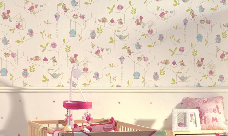 Pap is de parede para quarto de casal solteiro feminino - Carta da parati cameretta bimba ...
