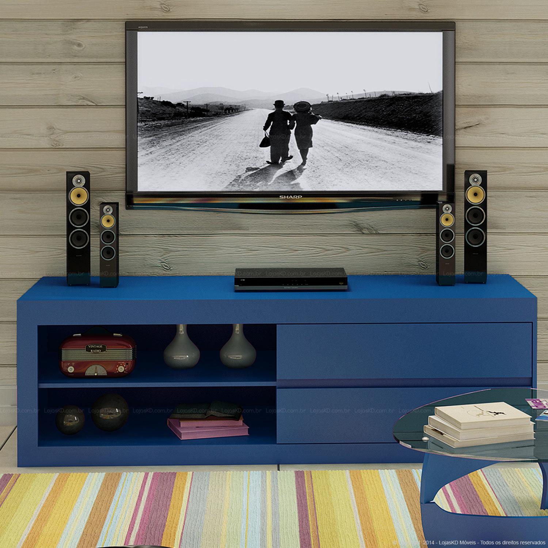 Almofadas Para Sala De Tv ~ Rack para Sala de TV, Diversos Modelos em Fotos  Ideias Mix