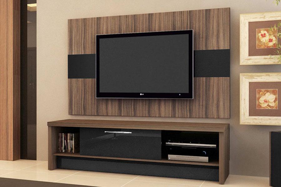 Rack Baixo Para Sala De Tv ~ Para Sua Sala De Tv Rack Estante Para Tv Decorativo Rack Para Tv Em