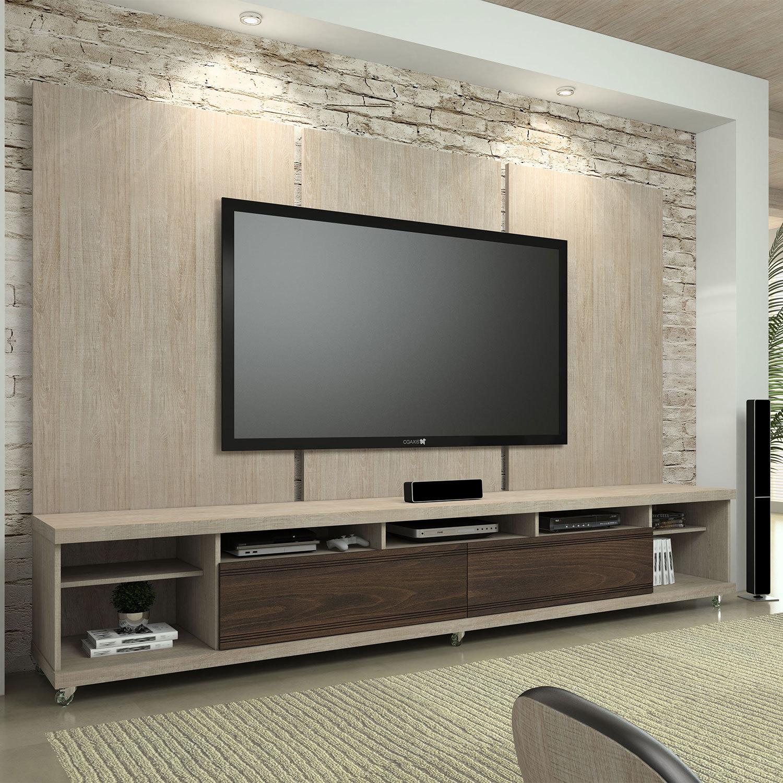 Rack Para Sala De Tv Diversos Modelos Em Fotos Ideias Mix -> Sala De Tv E Som