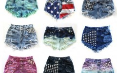 Shorts Jeans femininos, Moda Primavera Verão 2015