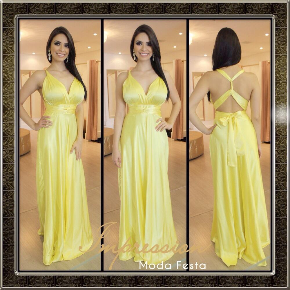 Vestido amarelo longo ideias mix vestido amarelo longo thecheapjerseys Choice Image