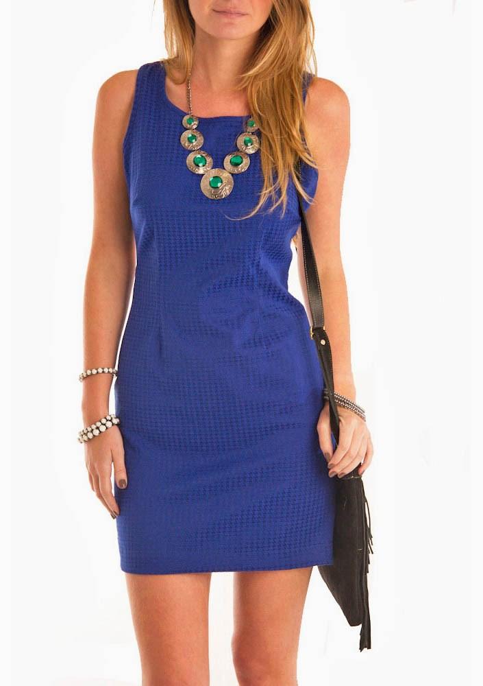 Vestido azul floribella acordes