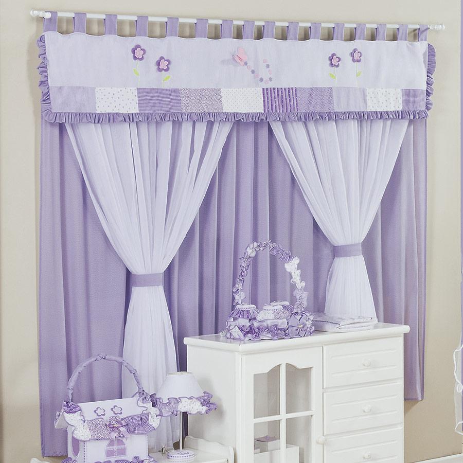 Confira dicas de cortinas para quarto de beb menina - Cortinas para bebe ...