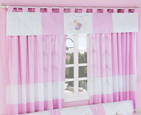 Confira dicas de cortinas para quarto de beb menina - Cortinas para bebes nina ...