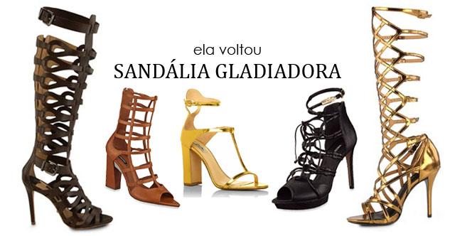 Confira os Modernos Modelos de Sandálias Gladiadoras de Salto Alto Para Esse Verão