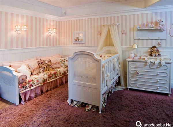 Belas dicas de papel de parede para quarto de beb - Papel de pared barcelona ...