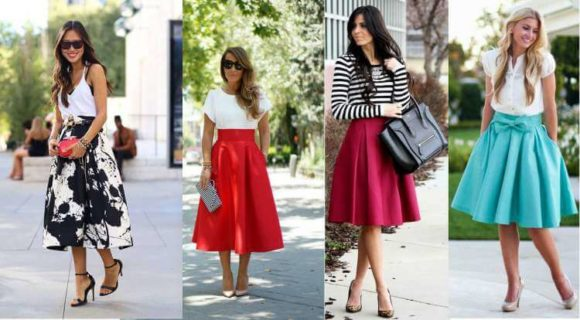 saias da moda evangélica